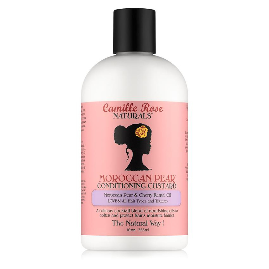 Camille Rose Naturals Moroccan Pear Conditioning Custard (12 oz.)