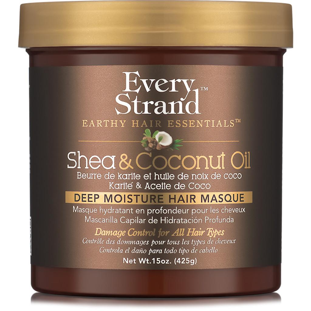 Every Strand Shea & Coconut Oil Deep Moisture Hair Masque (15 oz.)