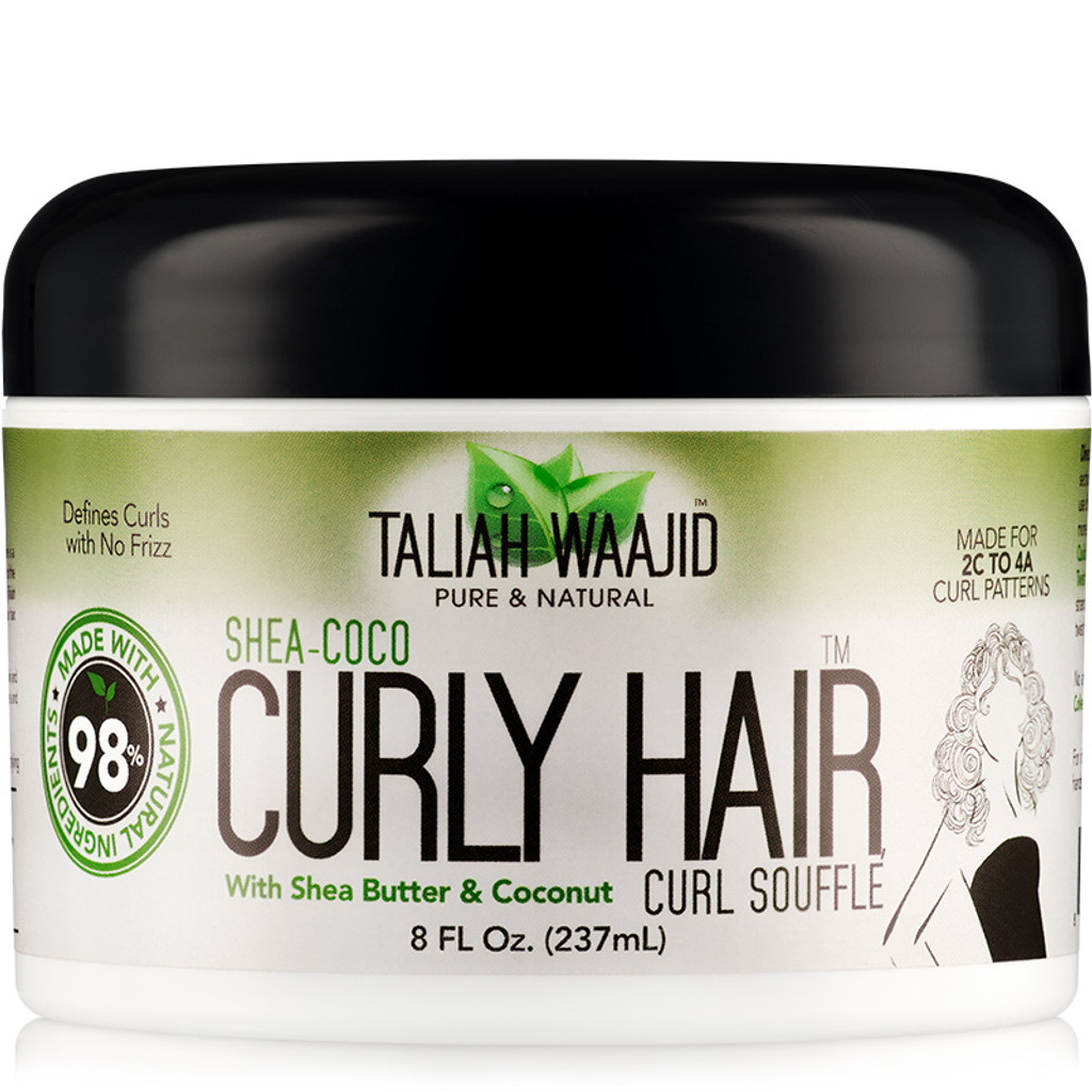 Taliah Waajid Pure & Natural Shea Coco Curly Hair Souffle (8 oz.)