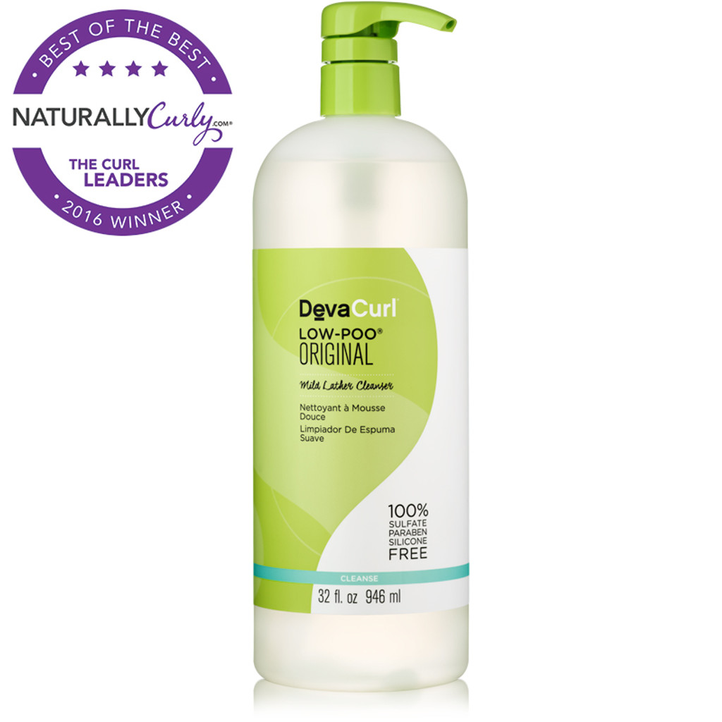 DevaCurl Low-Poo Original Mild Lather Cleanser (32 oz.)