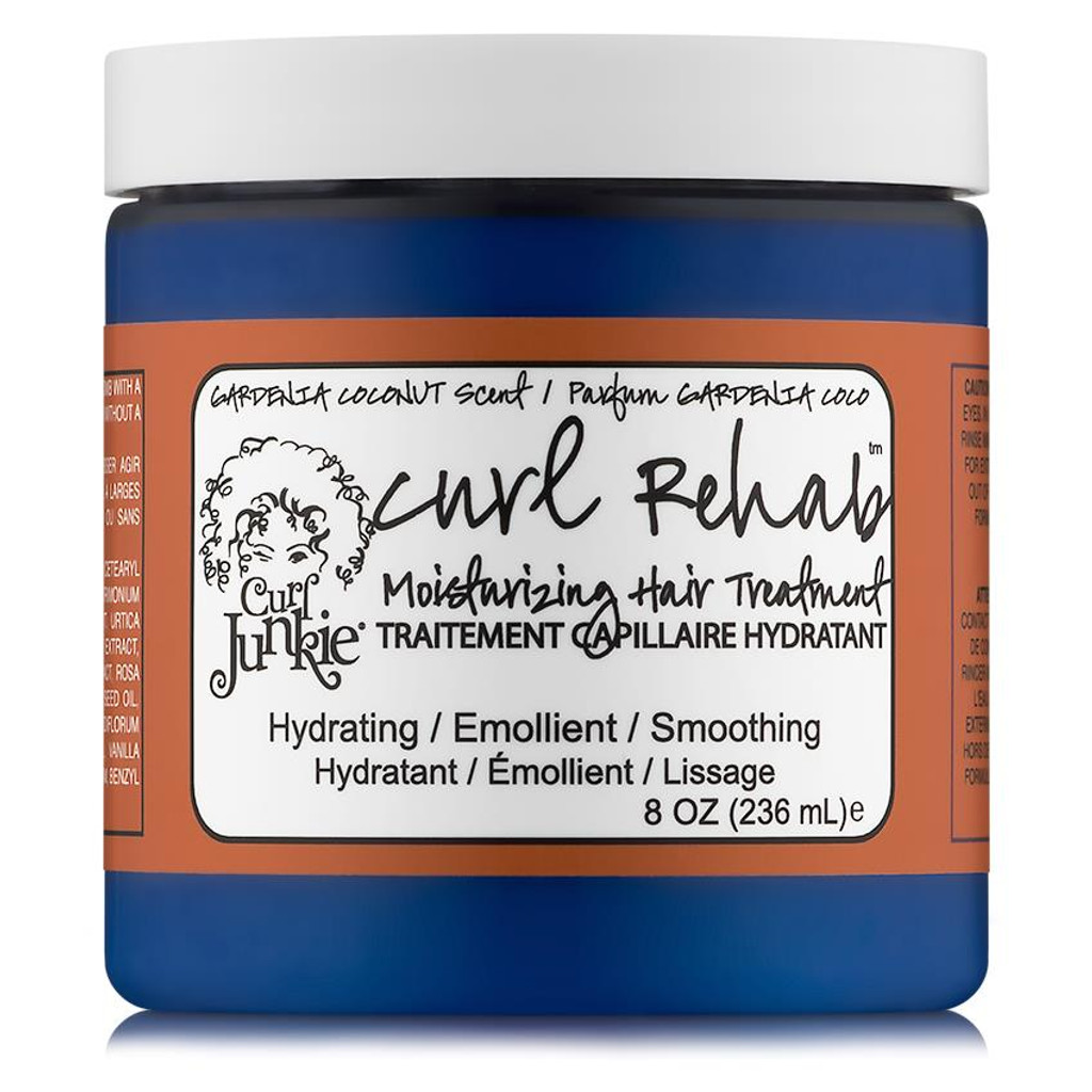 Curl Junkie Curl Rehab Moisturizing Hair Treatment - Gardenia-Coconut (8 oz.)