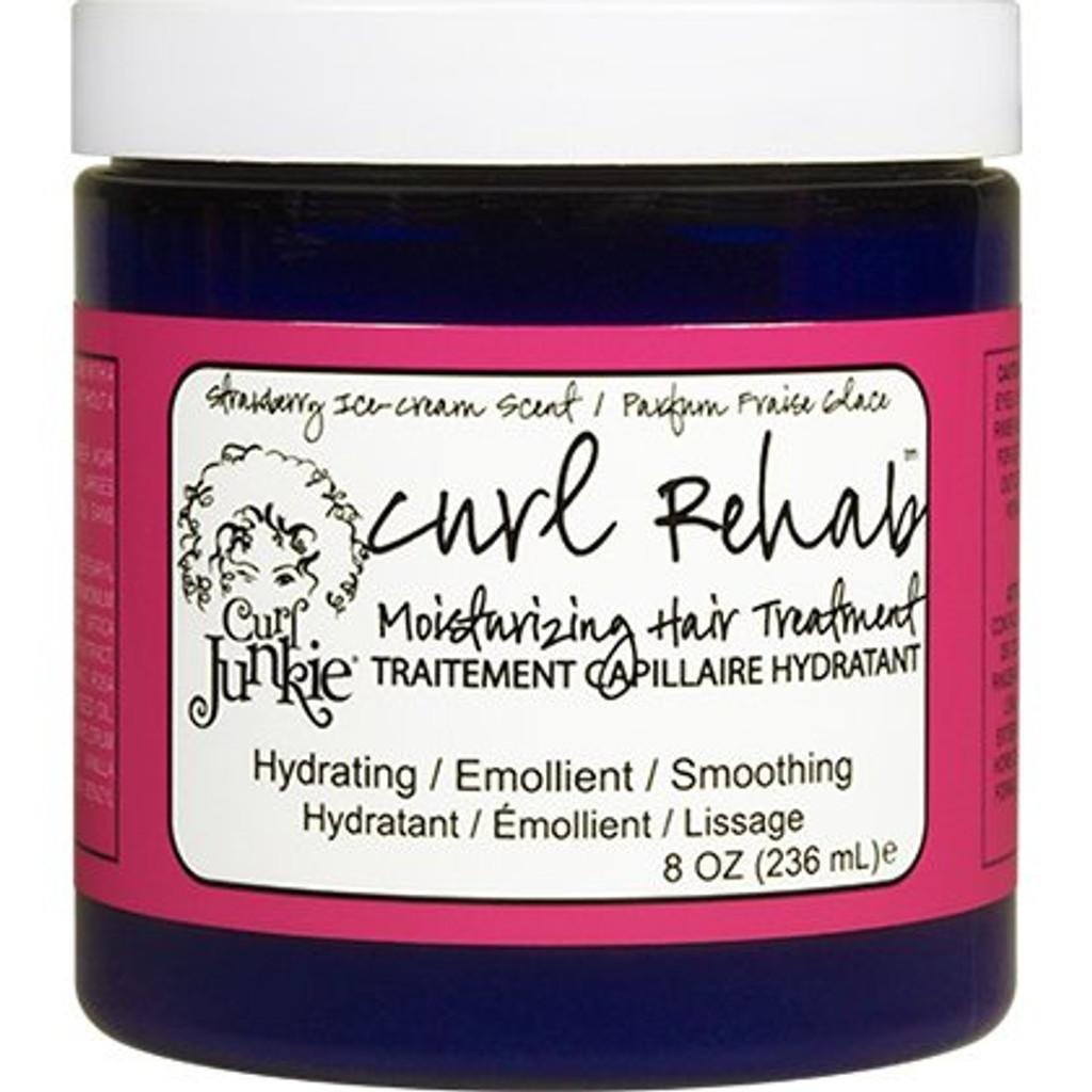 Curl Junkie Curl Rehab Moisturizing Hair Treatment - Strawberry Ice Cream (8 oz.)