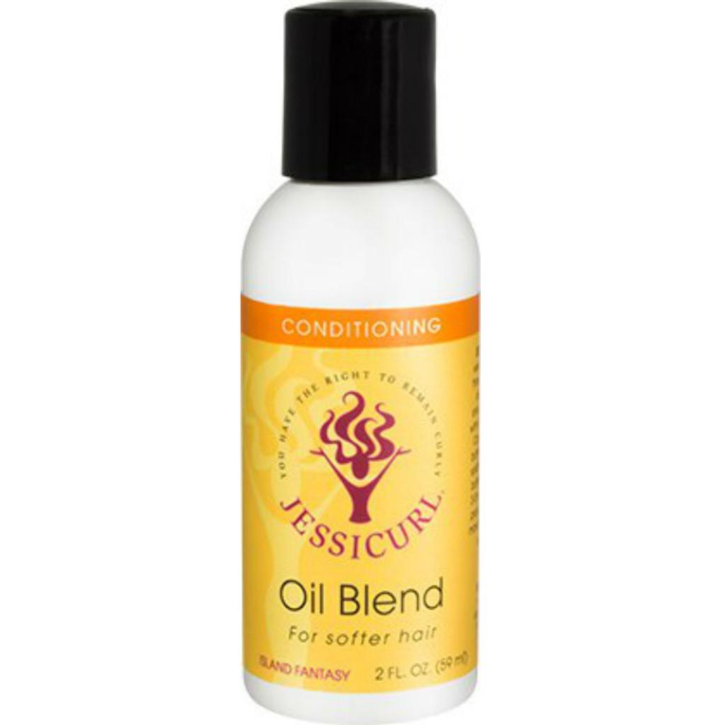 Jessicurl Oil Blend for Softer Hair - Island Fantasy (2 oz.)