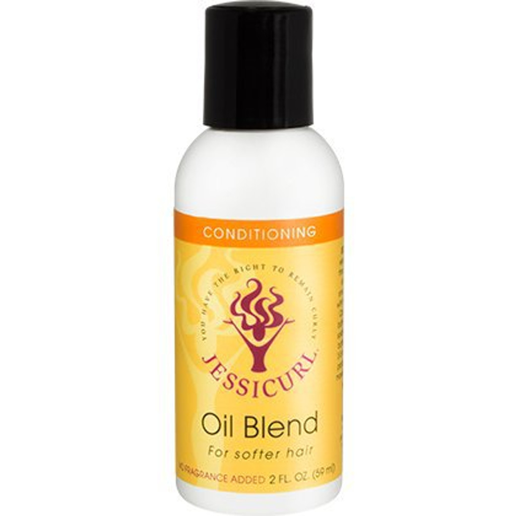 Jessicurl Oil Blend for Softer Hair - No Fragrance (2 oz.)