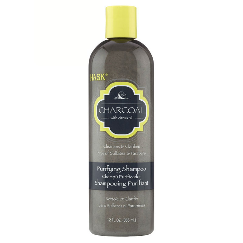 HASK Charcoal with Citrus Oil Purifying Shampoo (12 oz.)