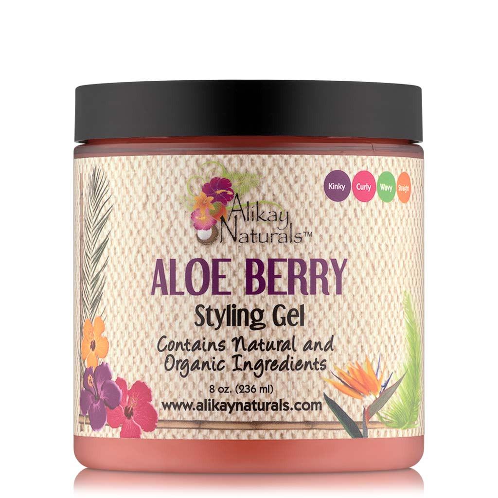Alikay Naturals Aloe Berry Styling Gel (8 oz.)