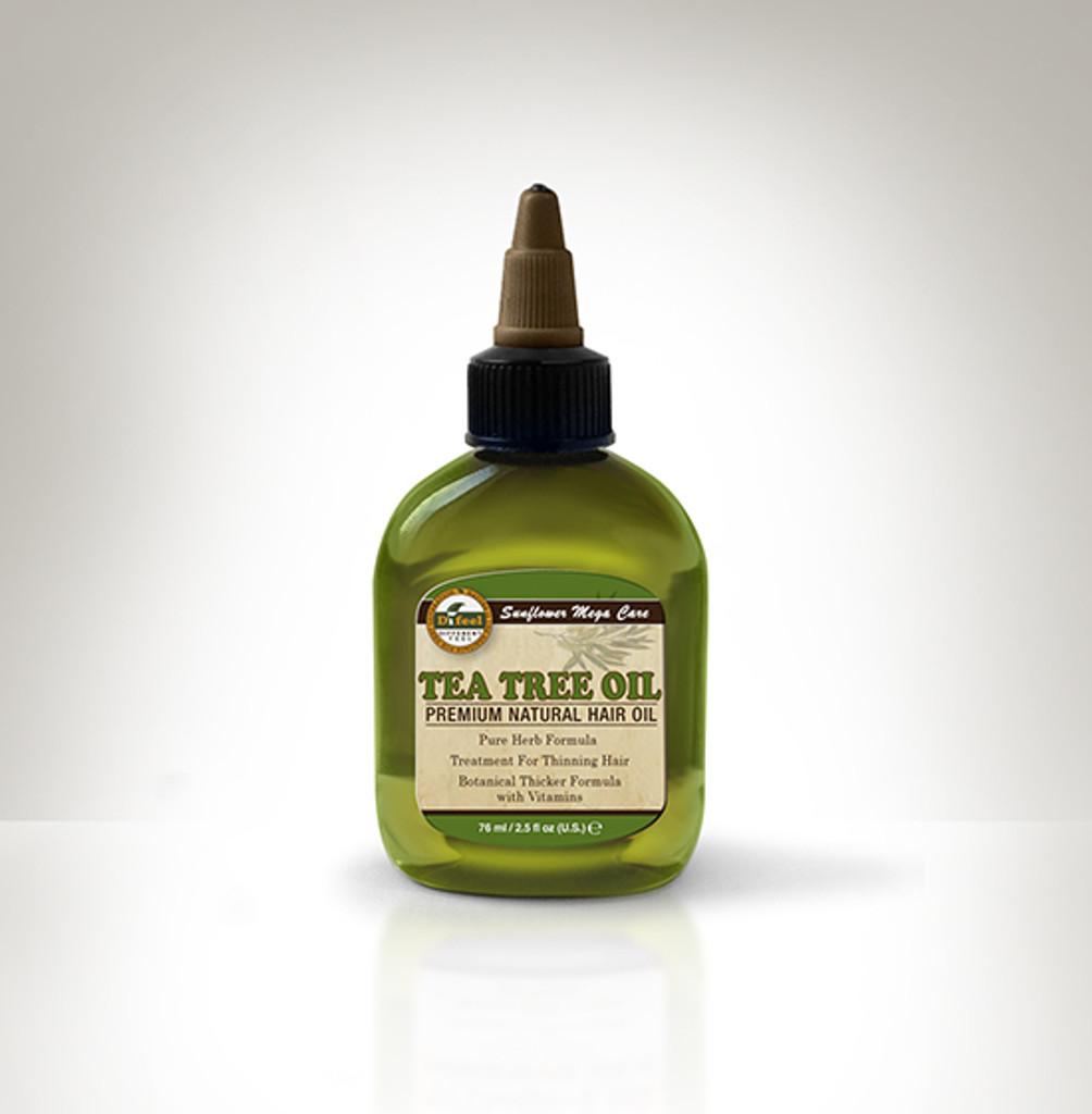 Difeel 100% Pure Tea Tree Hair Oil (2.5 oz.)