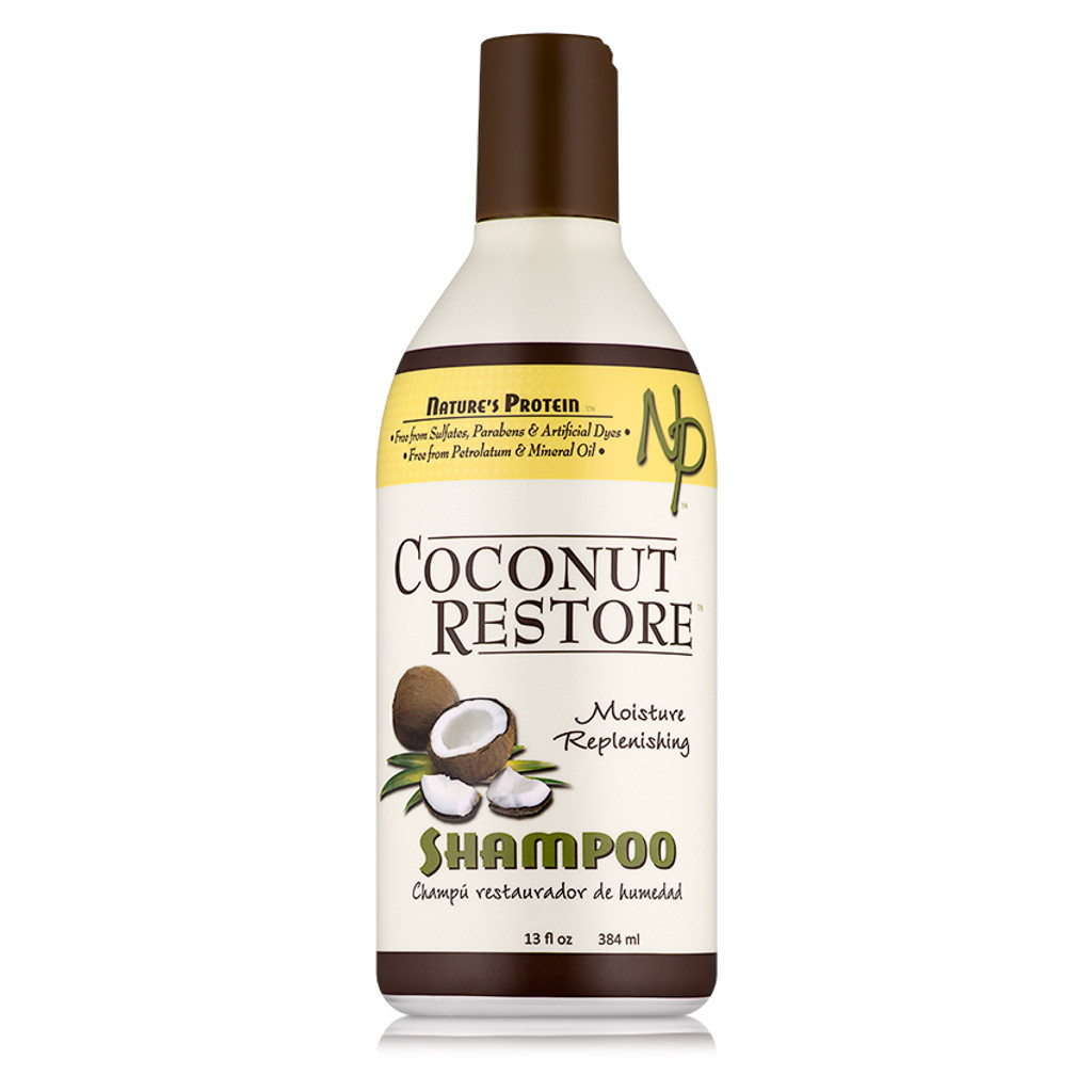 Coconut Restore Moisture Replenishing Shampoo (13 oz.)