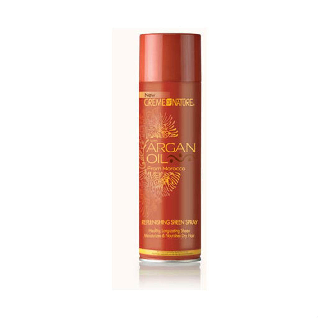 Creme of Nature Argan Oil Replenishing Sheen Spray (11.25 oz.)