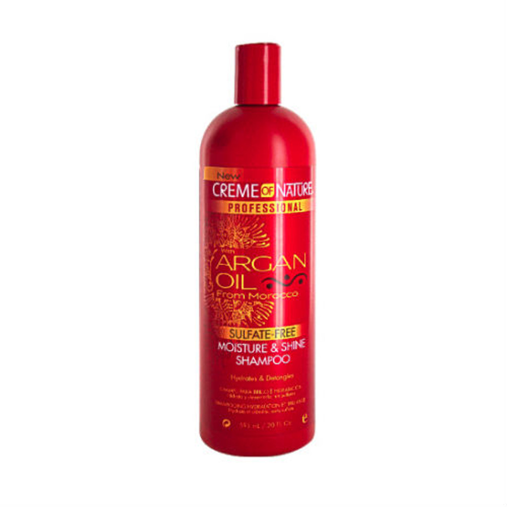 Creme of Nature Argan Oil Sulfate-Free Moisture & Shine Shampoo (20 oz.)