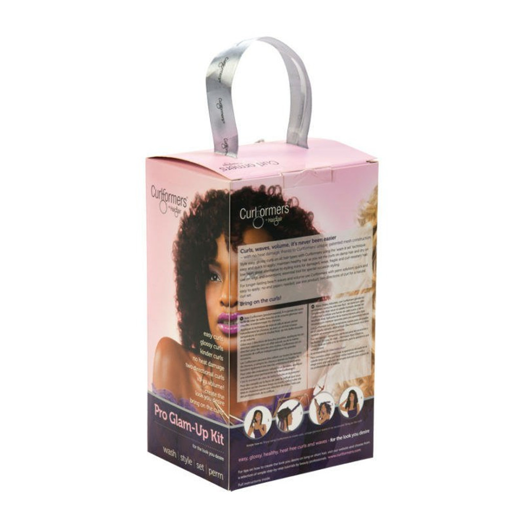 Curlformers by Hair Flair Deluxe Pro Glam Up Kit for Spiral Curls - Long Hair (20 ct.)