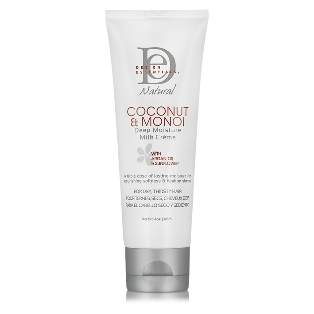 Design Essentials Coconut Monoi Deep Moisture Milk Creme 4 Oz