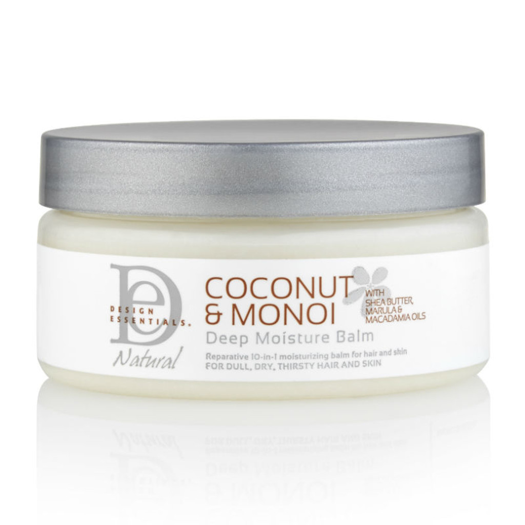 Design Essentials Coconut & Monoi Deep Moisture Balm (7.5 oz.)