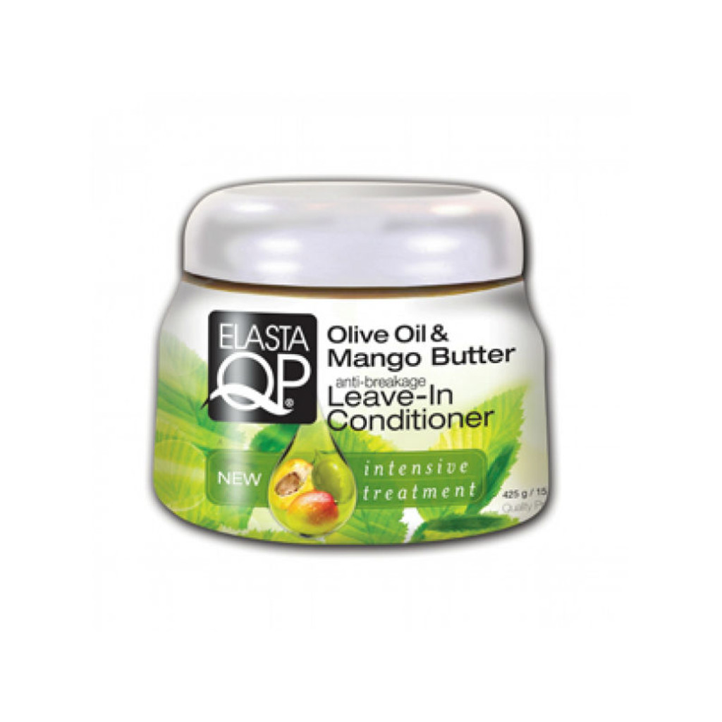 ElastaQP Olive Oil & Mango Butter Anti-Breakage Leave-In Conditioner (15 oz.)
