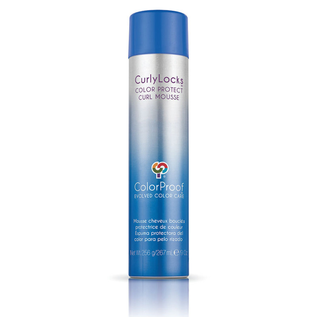 Review: ColorProof Curly Locks Color Protect Curl Mousse (9 oz.)