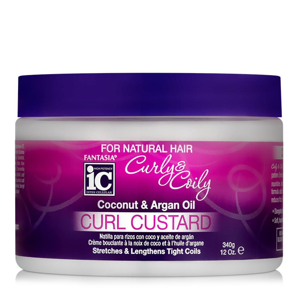 Fantasia Curly & Coily Curl Custard (12 oz.)