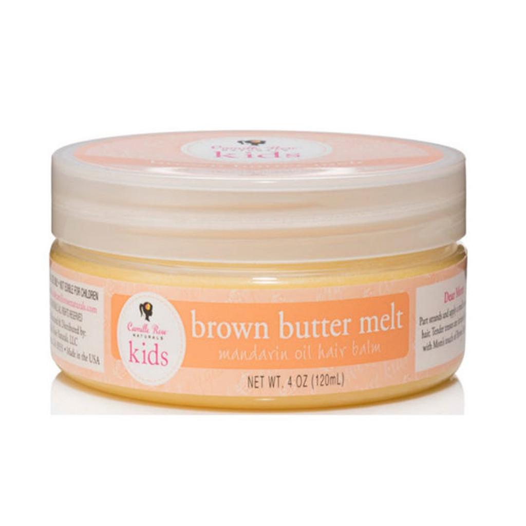 Camille Rose Naturals Kids Brown Butter Melt Mandarin Oil Hair Balm (4 oz.)