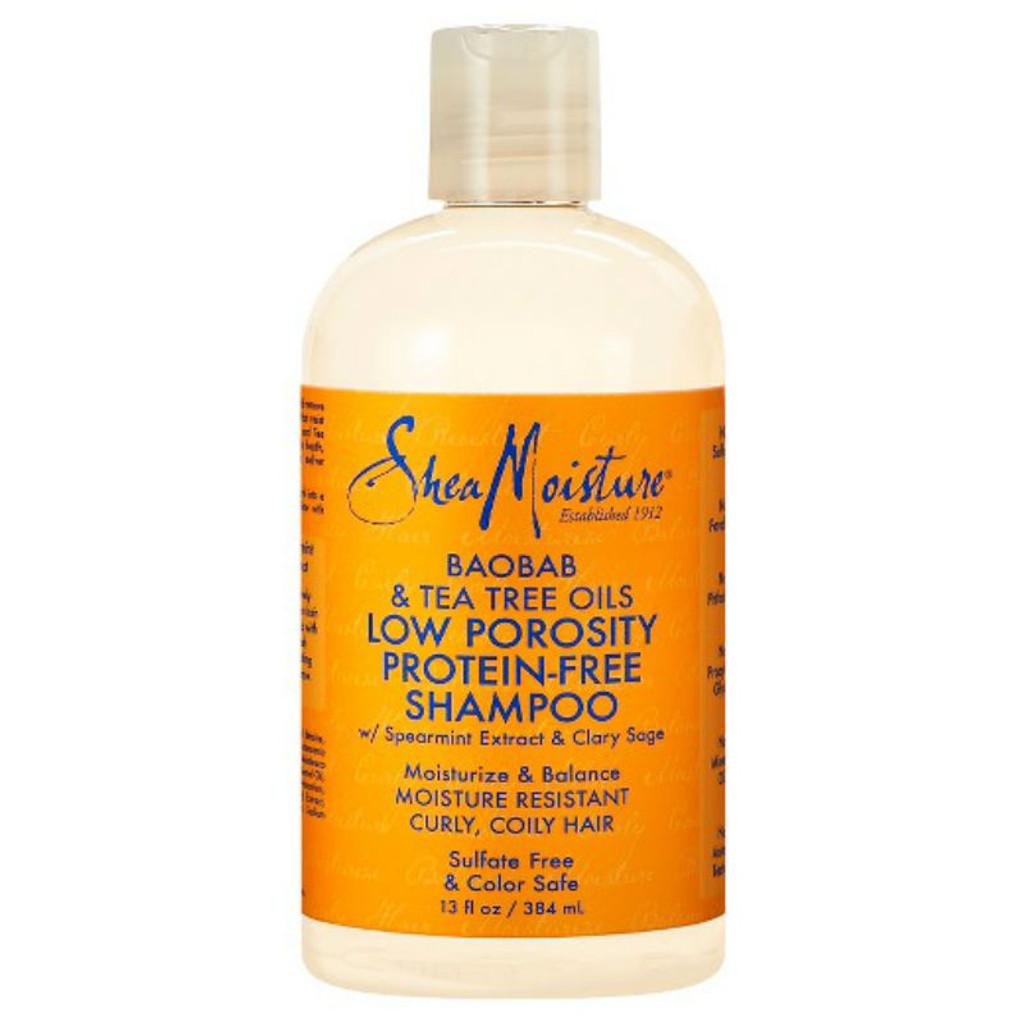 SheaMoisture Baobab & Tea Tree Oils Low Porosity Protein-Free Shampoo (13 oz.)