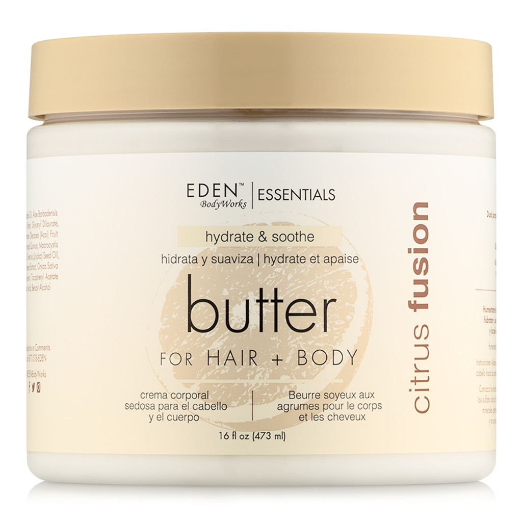EDEN BodyWorks Citrus Fusion Hair + Body Butter (16 oz.)