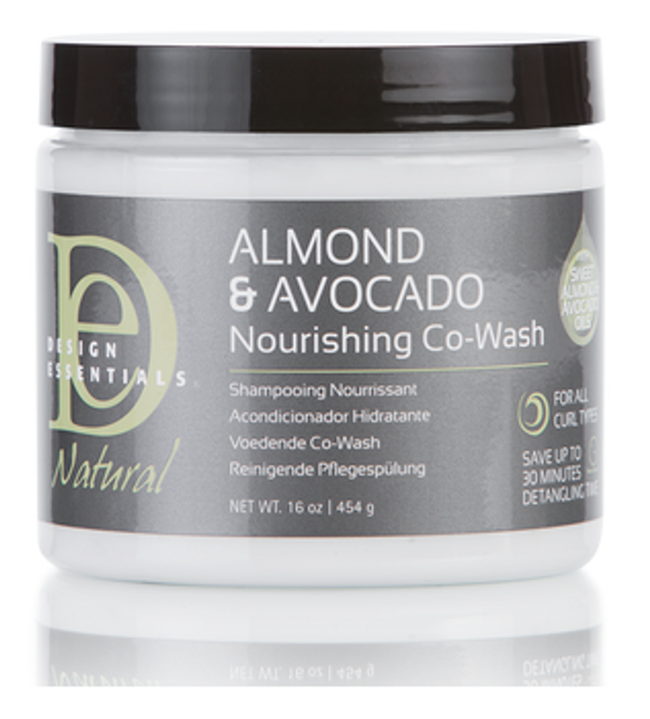 Design Essentials Almond & Avocado Nourishing Co-Wash (16 oz.)