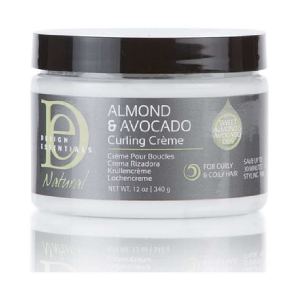 Design Essentials Almond Avocado Curling Creme 12 Oz
