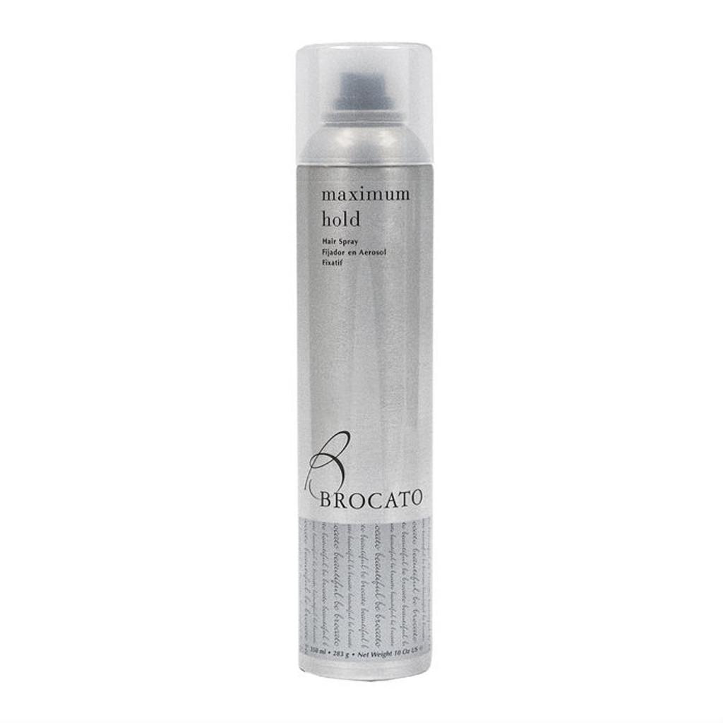 Review: Brocato Maximum Hold Hair Spray (10 oz.)