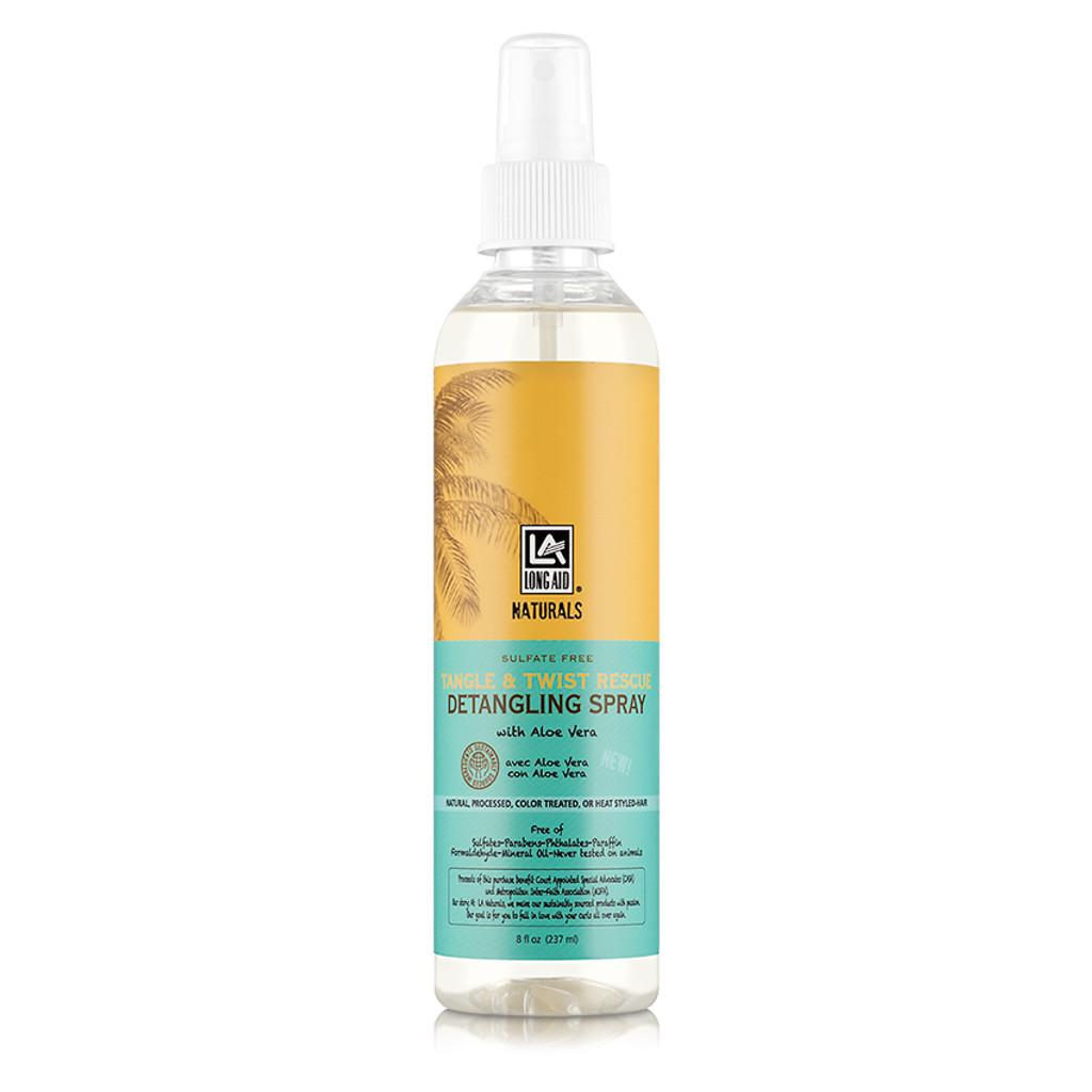 Long Aid Naturals Tangle & Twist Rescue Detangling Spray  (8 oz.)