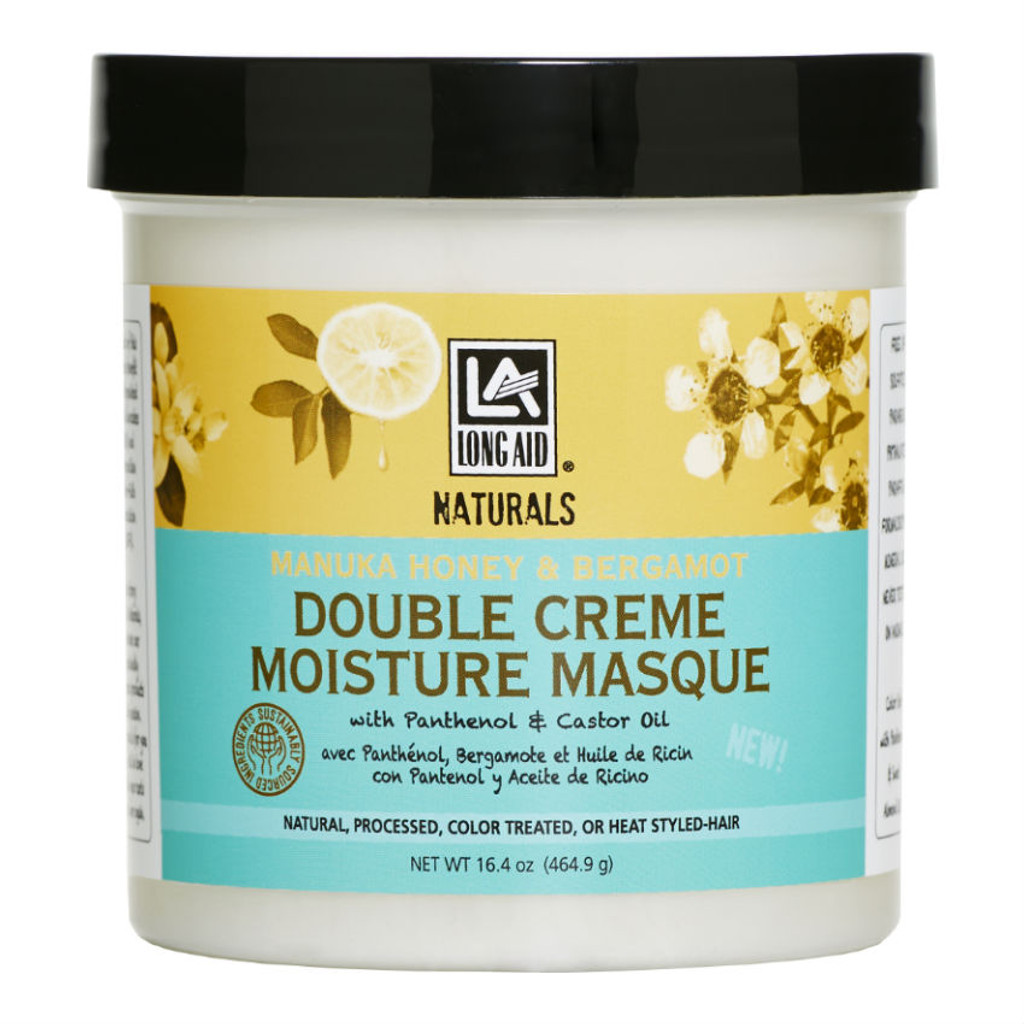 Long Aid Naturals Manuka Honey & Bergamot DoubleCream Moisture Masque (16.4 oz.)