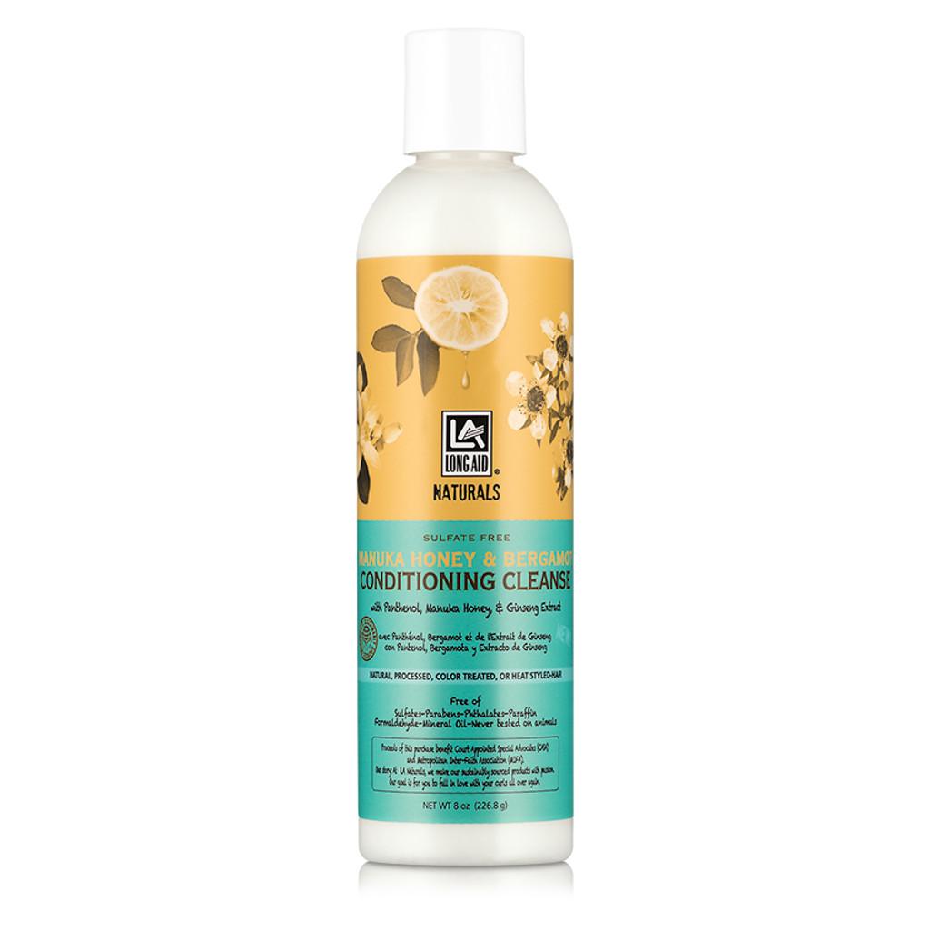Long Aid Naturals Manuka Honey & Bergamot Conditioning Cleanse (8 oz.)