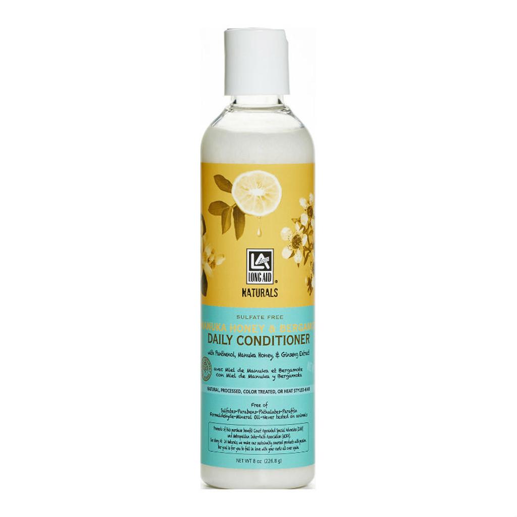 Long Aid Naturals Manuka Honey & Bergamot Daily Conditioner (12 oz.)