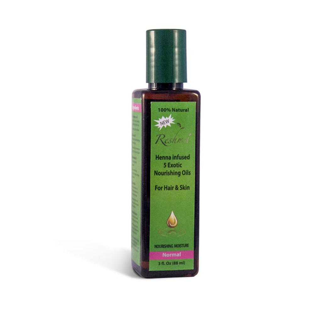 Reshma Beauty Henna Oil Treatment for Normal Hair (3 oz.)
