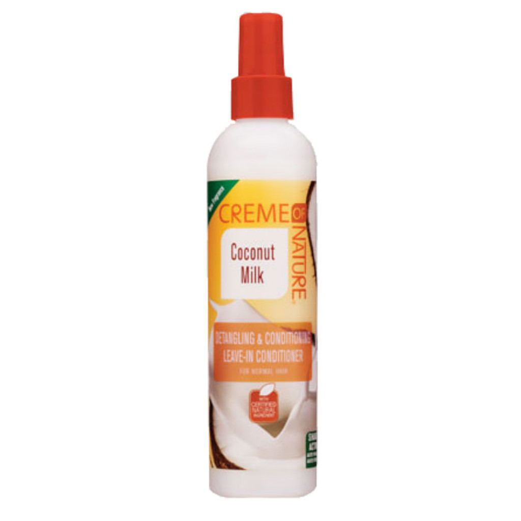 Creme of Nature Coconut Milk Detangling & Conditioning Leave-In Conditioner (8.45 oz.(