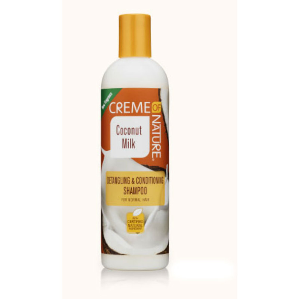 Creme of Nature Coconut Milk Detangling & Conditioning Shampoo (12 oz.)