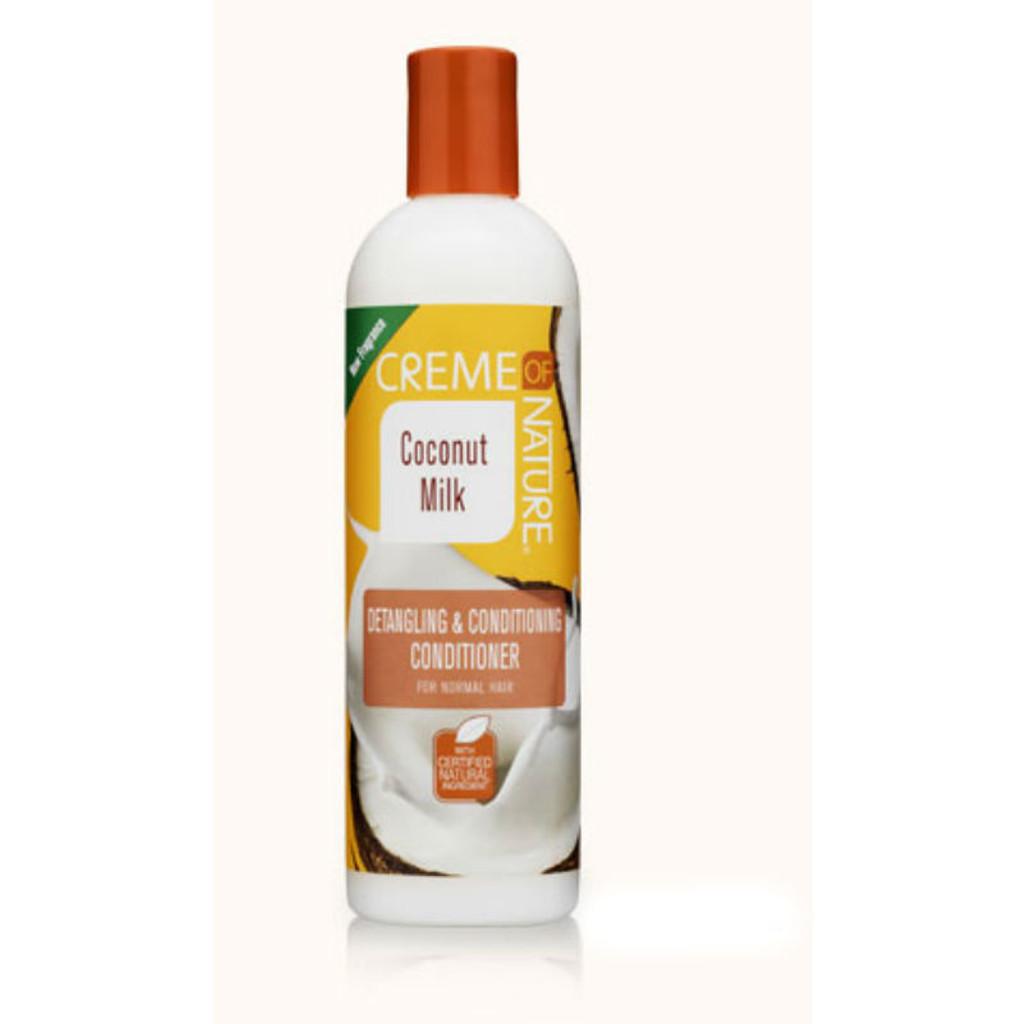 Creme of Nature Coconut Milk Detangling & Conditioning Conditioner (12 oz.)