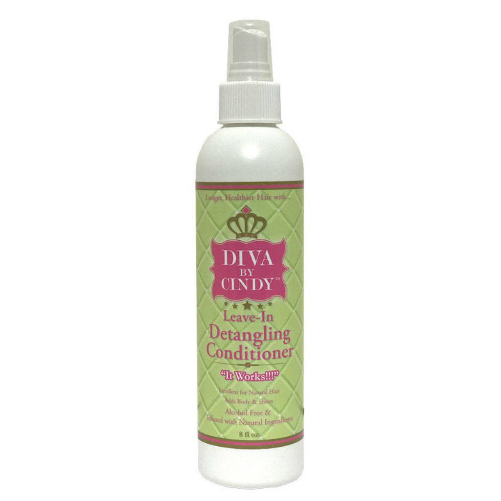 Diva by Cindy Leave-In Detangling Conditioner (8 oz.)