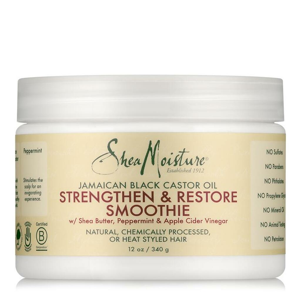 SheaMoisture Jamaican Black Castor Oil Strengthen & Restore Smoothie (12 oz.)