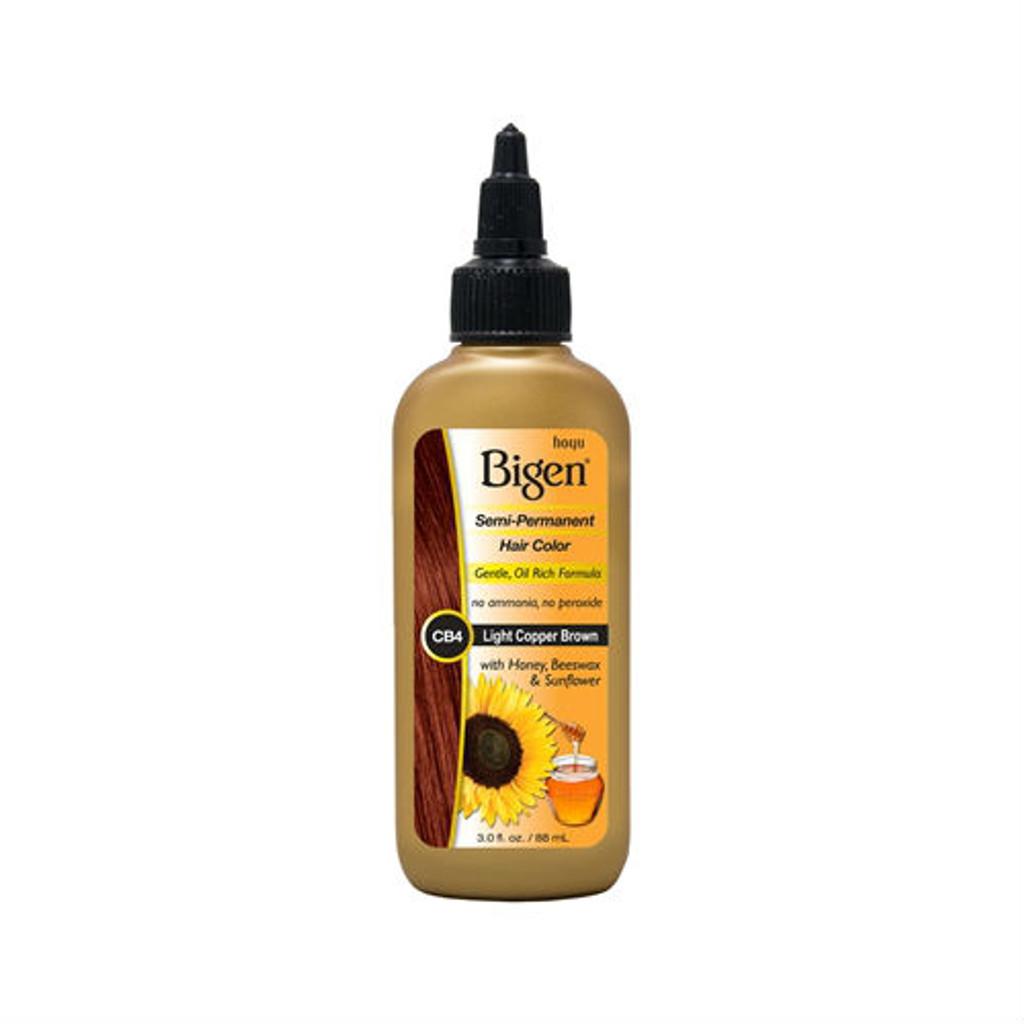 Bigen CB4 Light Copper Brown Semi-Perm Hair Color (3 oz.)