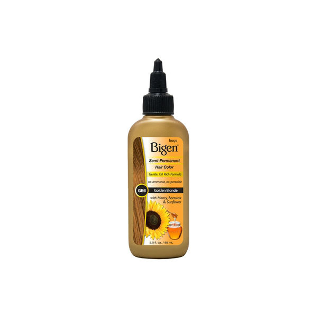 Bigen GB6 Golden Blonde Semi-Perm Hair Color (3 oz.)