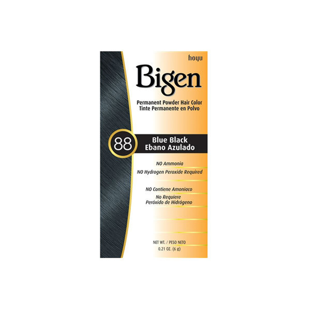 Bigen #88 Blue Black Permanent Hair Color (0.21 oz.)