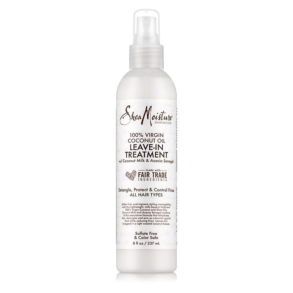SheaMoisture 100% Virgin Coconut Oil Daily Hydration Leave-In Detangler  (8 oz.)