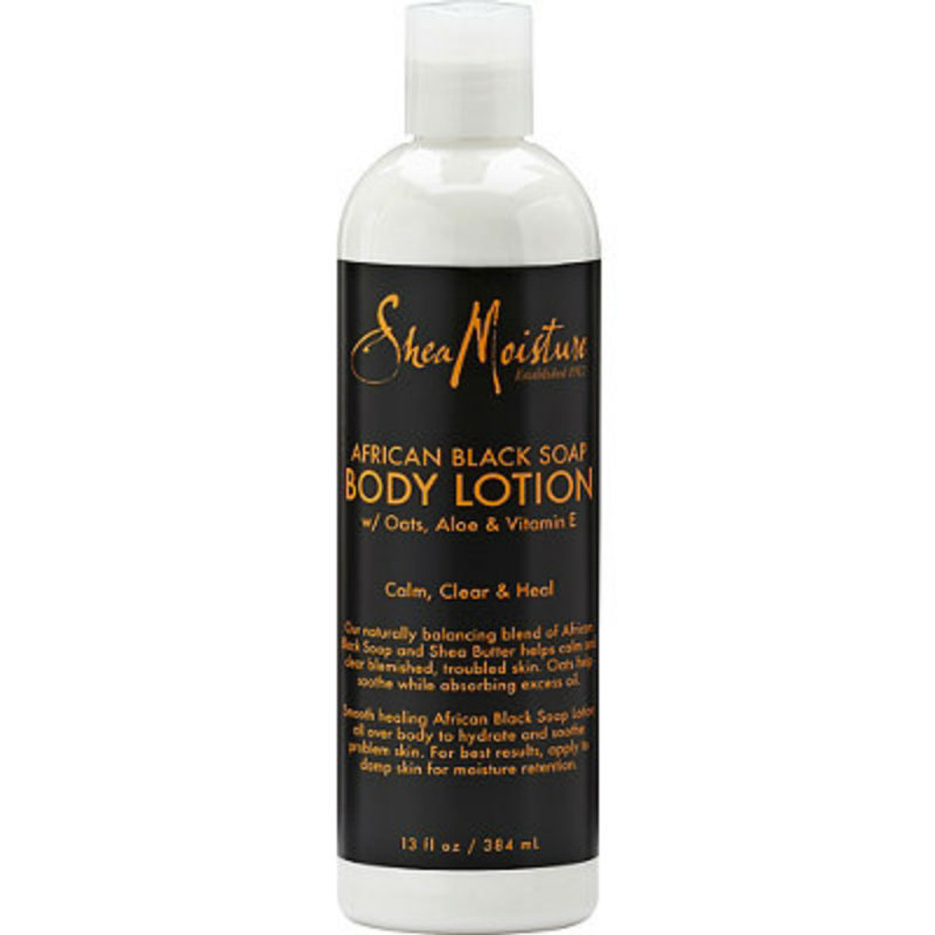 SheaMoisture African Black Soap Body Lotion (13 oz.)