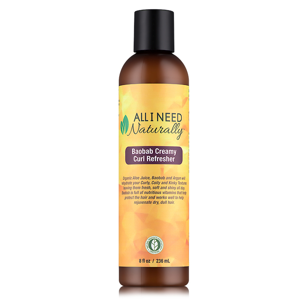 All I Need Naturally Baobab Creamy Curl Refresher (8 oz.)
