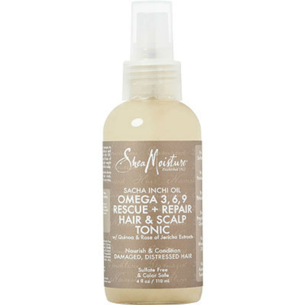 SheaMoisture Sacha Inchi Oil Omega 3-6-9 Rescue + Repair Hair & Scalp Tonic (4 oz.)