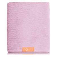 AQUIS Hair Towel Lisse Luxe - Desert Rose