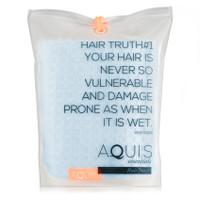 AQUIS Hair Towel Waffle Luxe - Dream Boat Blue