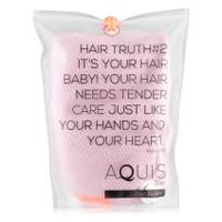 AQUIS Hair Turban Lisse Luxe - Desert Rose