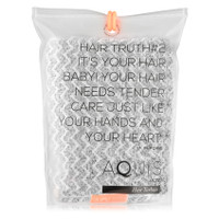 AQUIS Hair Turban Chevron Weave - Black and White