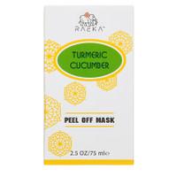 Raeka Beauty Turmeric-Cucumber Peel Off Mask (2.5 oz)