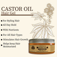 OKAY Pure Naturals for Men Castor Oil Hair Gel (7.25 oz.)