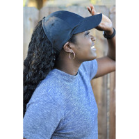 Curly Hair Solutions Curl Keeper BADAZZ Backless Curl Cap - Satin Black
